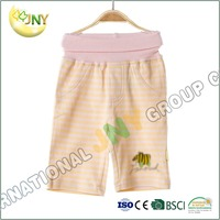 New fashion cheap 100% cotton baby trousers