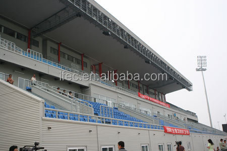 galvanized cheap light steel structure stadium bleachers