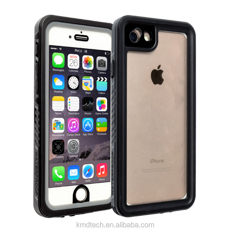 For iPhone 6/6S/7 Waterproof Shockproof Dustproof Snowproof Durable Protective Case Dropproof Withstand 2 Meters