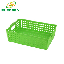 cheap stackable small rectangular vegetables plastic storage baskets