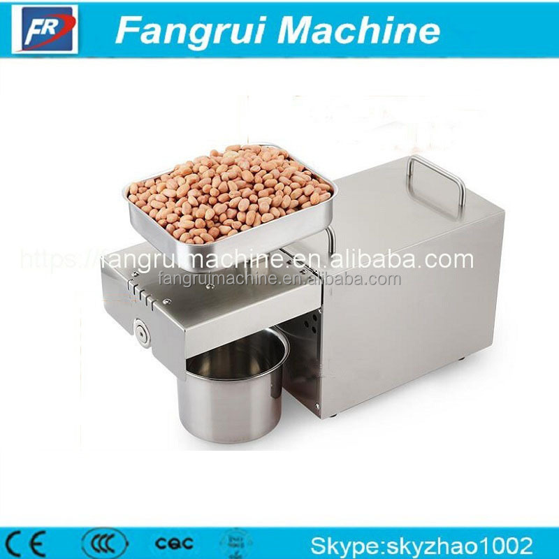 Hot sale moringa vertical screw flax seed304 stainless steel cold oil pressing