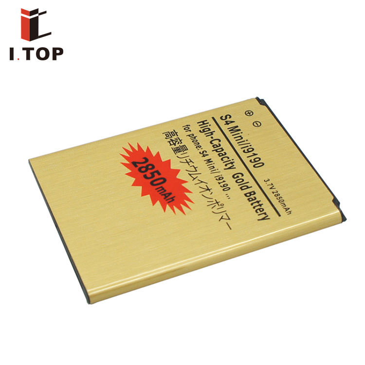 High capacity internal long battery life spare parts for S4 mini i9190 smart mobile phone