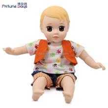 (YW-XR1603) Top quality 3 years old up 12 inch Chubby soft boy doll