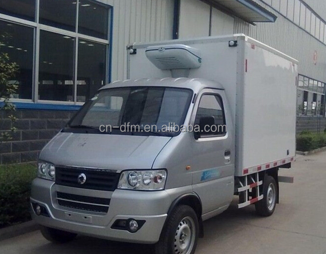 China brand 1ton mini refrigerated van for sale in Solomon