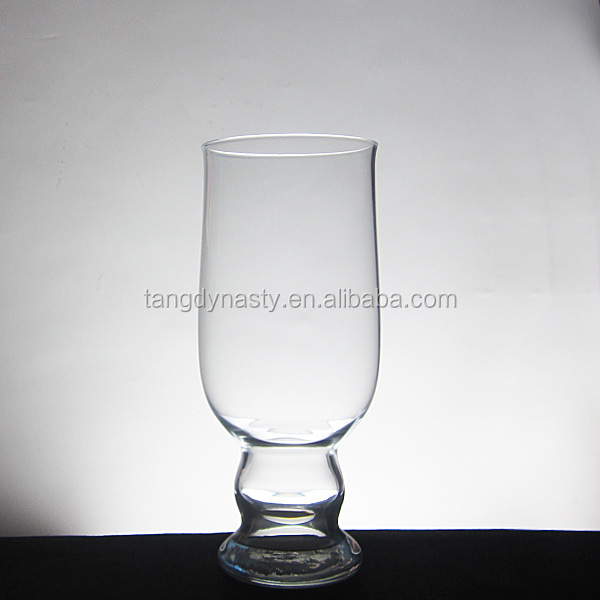 Hand blown novelty beer glass