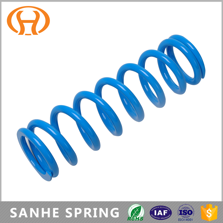 Round Wire Nickel Alloy Tempering Hard Compression Springs