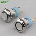 CMP waterproof ip67 stainless steel maintain push button switch