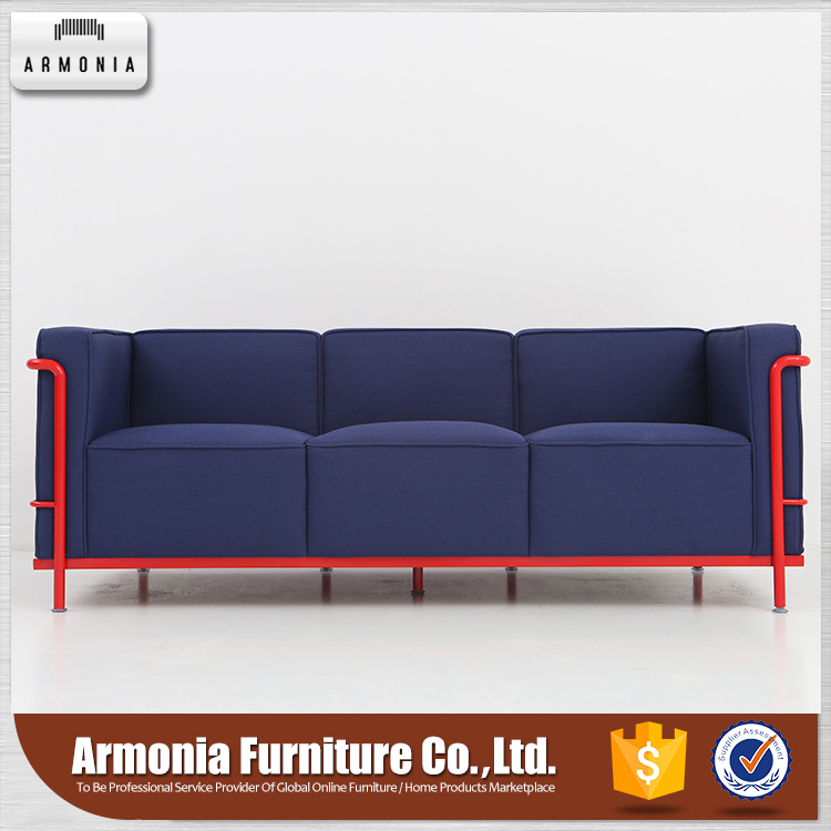 Simple design blue color pictures of sofa designs