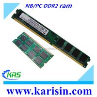Factory stock ddr memory ram pc800 ddr2 1gb 2gb 4gb ram price