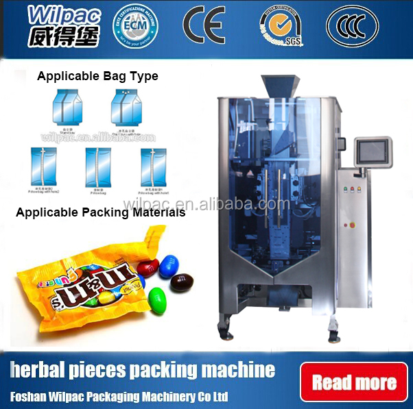 Small Sweet Chocolate Wrapping Packing Machinery