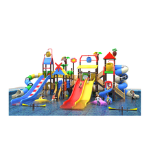 water theme park large plastic water slide for sale