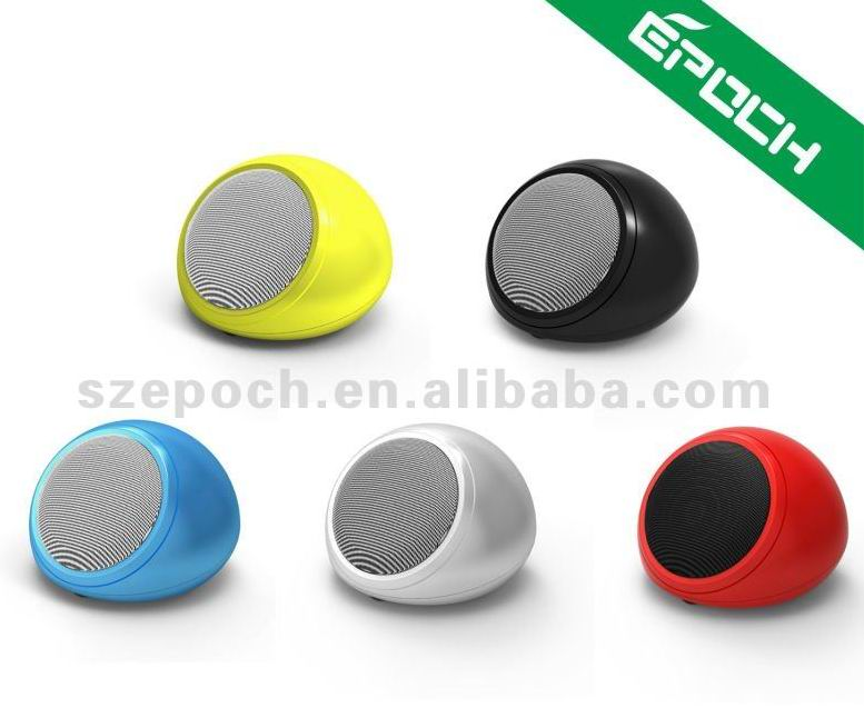2013 novelty smallest speaker, mini small bluetooth speaker with unique design