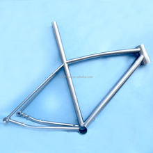 New model titanium ISP DI2 thru-axle tapered headtube road bike frame flat mount brake internal cable routing frame