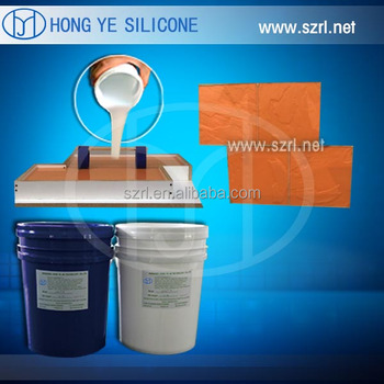 rtv2 liquid silicon rubber for cement, plaster, concrete