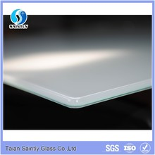China factory supply 6mm--10mm thick colored tempered glass sheet