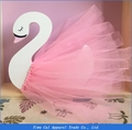 Lovely Wooden Swan Home Decoration