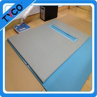 waterproof bathroom Solid Surface Shower Pan light weight board