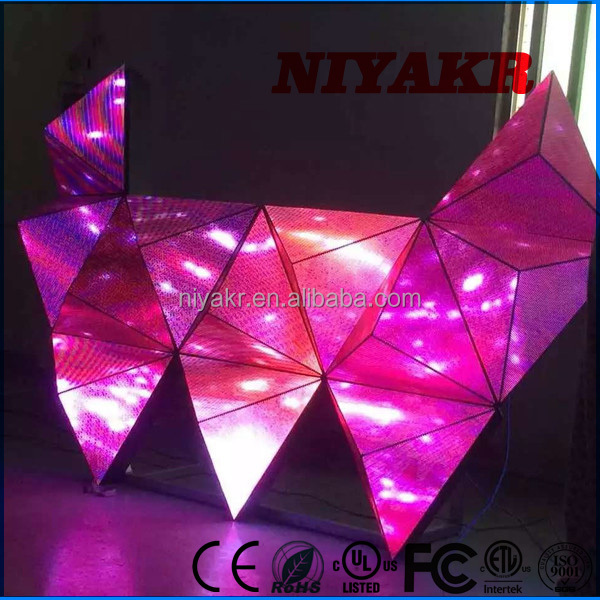 Niyakr Top Ten LED Display Manufacture Disco LED DJ Display Screen for Bar Stage