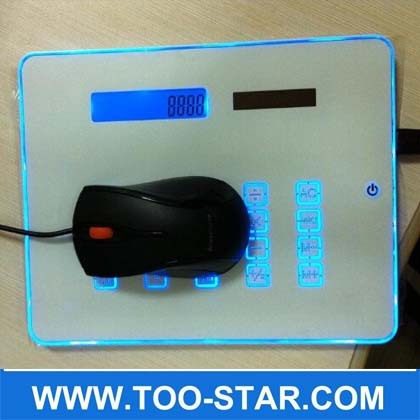 LED usb mousepad calculator 2014 best promotion gift from China manufacturer