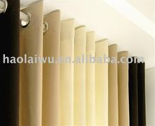 100% polyester micro silk window curtain