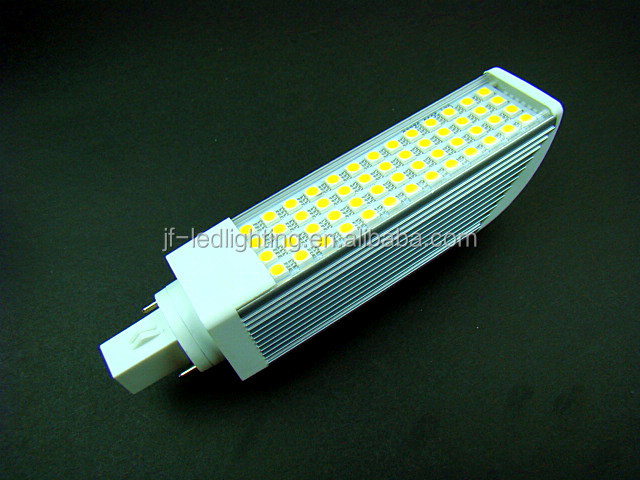 CE&RoHS 10W SMD LED PLC G24 Light Bulb