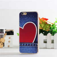 Soft case with silicon for iphone , tpu case for iphone 6s case mobile phone