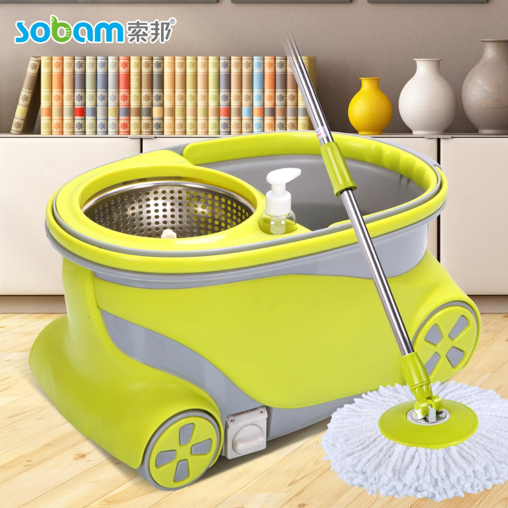 floor cleaning machine mop 360 with wheels