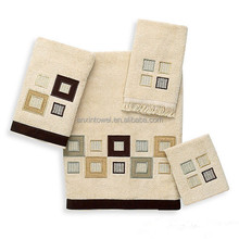 100% cotton Embroidery hand towels for sale