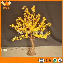 H100cm High Simulation Low Voltage Garden Lighting LED Cherry Blossom Christmas Tree Lights With 360 LEDs