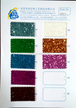 Wholesale Shoe Material PU Glitter Leather Fabric for Wallpaper and Shoes