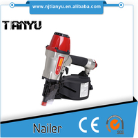 Factory recommend construction hard paper box pack Coil Nail Gun Type and Pneumatic Power Source air roofing nailer