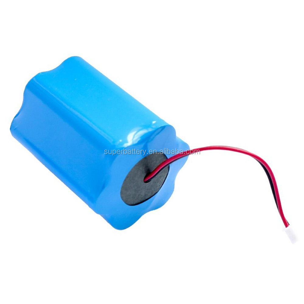 Lantern shape Rechargeable Lithium Ion Battery pack 12v 4400mah