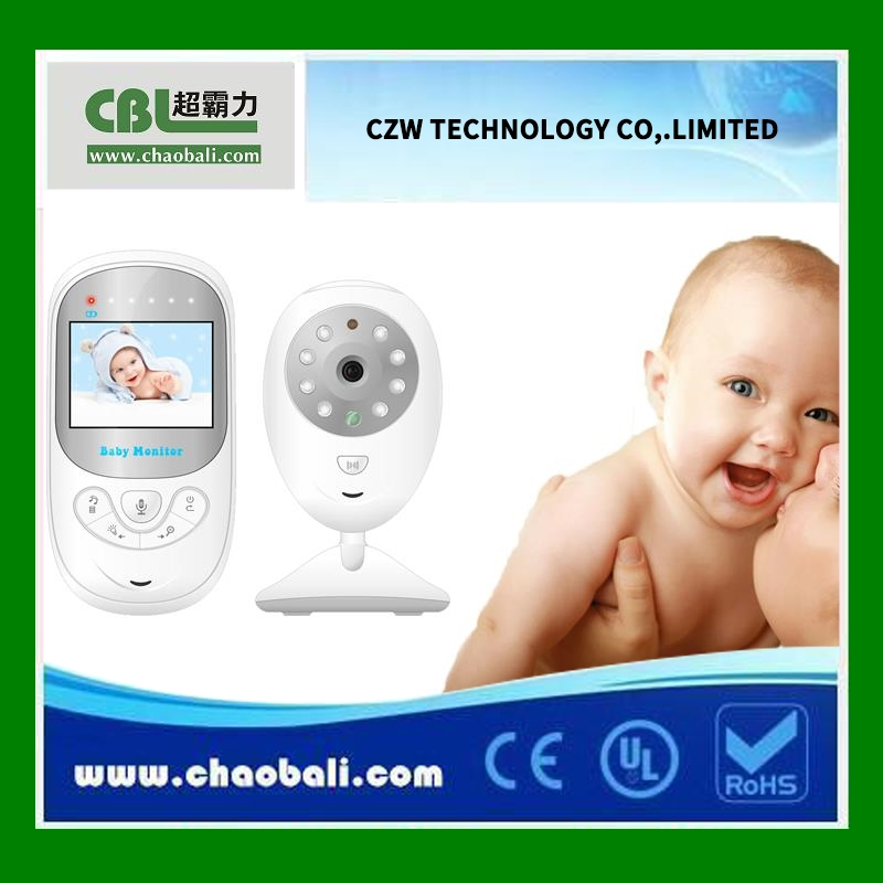 Electronic wireless baby monitor with pee alarm function