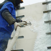 Thermal insulation and energy-saving fiberglass particle shape for building insulation and mechanical equipment