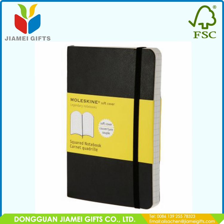 Embossed logo note book stationery manufactured in China