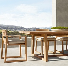 Luxury outdoor <strong>furniture</strong> outdoor teak table set teak outdoor dining table and chairs