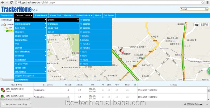 real time google map single sim card car gps tracker tk103A(dual sim card tk103A+ optional)
