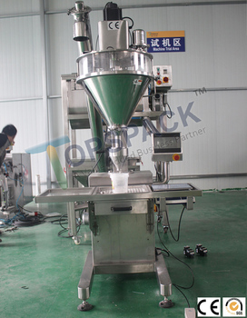Semi Automatic cosmetic powder filler/pearl powder packaging machine