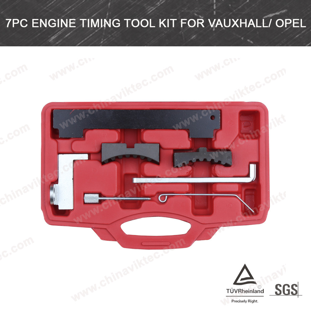 7pc Engine Timing Tool Kit for Vauxhall/Opel (VT01781)