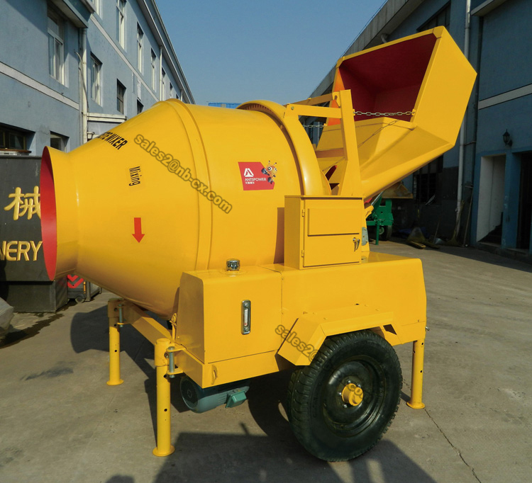 JZC350-EH High Quality Self Loading Concrete Mixer