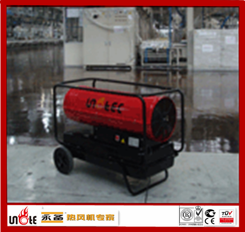 portable direct fired diesel heater