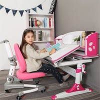 Adjustable height children desk and chair E120