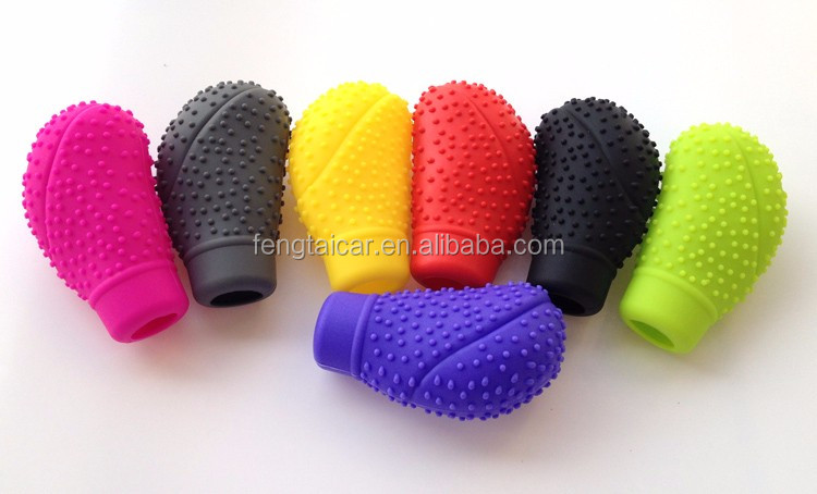 New 100% Silicone Gear Shift Knob Boot Cover Universal Car Truck Protector Sleeve