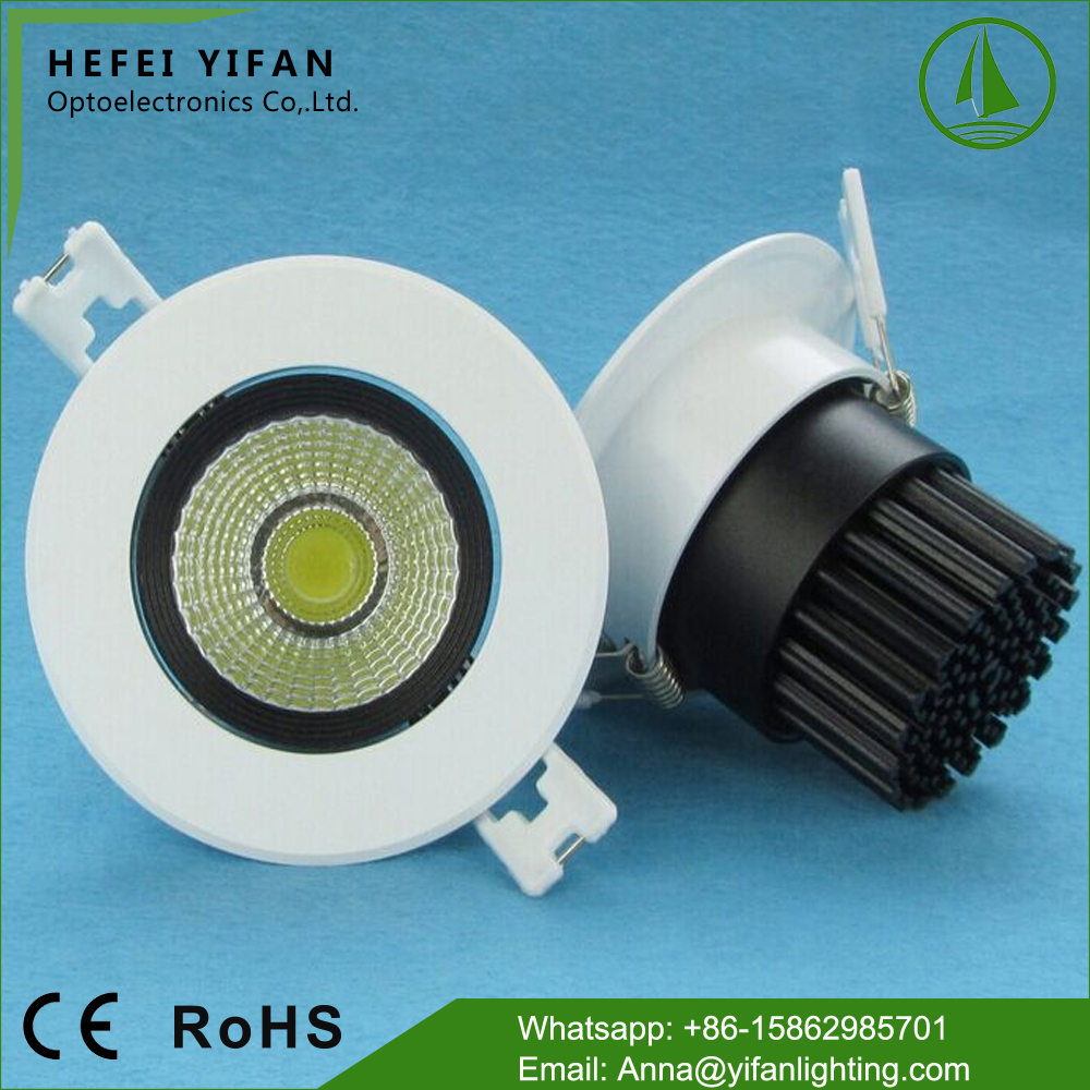 Hot product OEM support cost of led downlights vs halogen 100-240V
