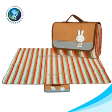 Top selling cheap custom picnic blanket fashion outdoor camping beach cartoon plastic foldable picnic mat