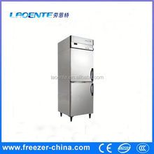 kitchen equipment Stainless steel vertical hiller cas freezer deep freezer for hotel kitchen with high quality