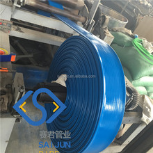 PVC lay flat pipe irrigation system for Water Discharge Layflat Hose