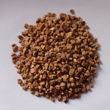 Dry walnut shell for glasses accessories and jewels polishing