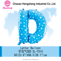 Custom shaped helium balloon for kids