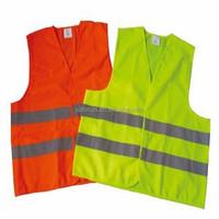 100% polyester reflective safety vest highway safety vest